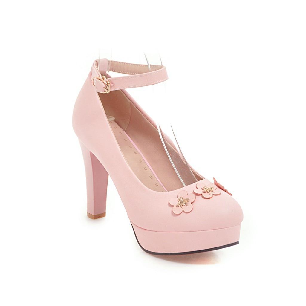 48 Fleur 2018 blanc Ronde Femme 33 Noir Épais Boucle Douce Simples pink Printemps Haute Yards Tête Avec Chaussures Super Nouveau 1845 0fSxOwqfB