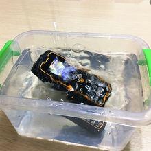 IP67 водонепроницаемый ударопрочный 1.75 дюймов дешевые Power Bank мобильного телефона X5000 Dual SIM GSM FM русская клавиатура кнопки телефонов H-mobile