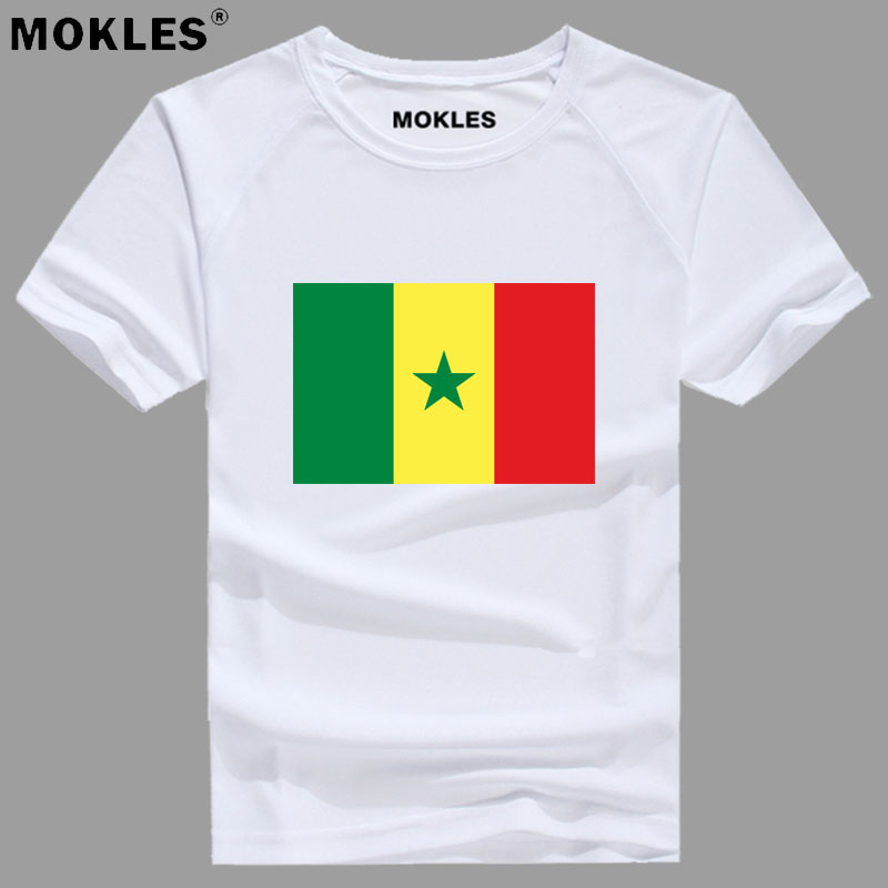 SENEGAL t shirt diy free custom made name number sen T-Shirt nation flag sn french country college print text photo logo clothes