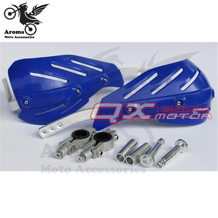 free shipping motocross handguard 22mm 28mm ATV Off-road hand guard moto dirt pit bike scooter motorcycle Accessories Protection blue warmth off road dirt pit bike protect motocross parts scooter bike protection hand motorcycle guantes moto luvas bike glove