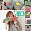 Women Wallet Ladies Short Wallets PU Small Leaves Wallet Coin Purse Girl Card Holder Clutch Bag New Fashion  Popular