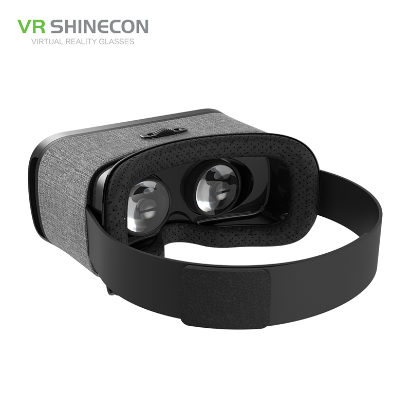 17 VR Shinecon 3D Immersive Virtual Reality Glasses Cardboard Wearable VR Box Headset for 4.3-6.0 inch Smartphone + Controller 17