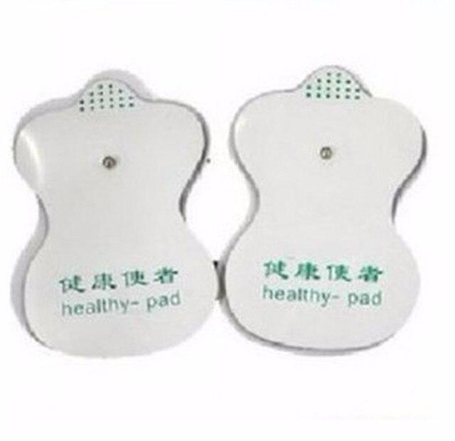Шт. 6 шт. белый электрод колодки для иглоукалывания цифровой терапии машины массажер инструменты