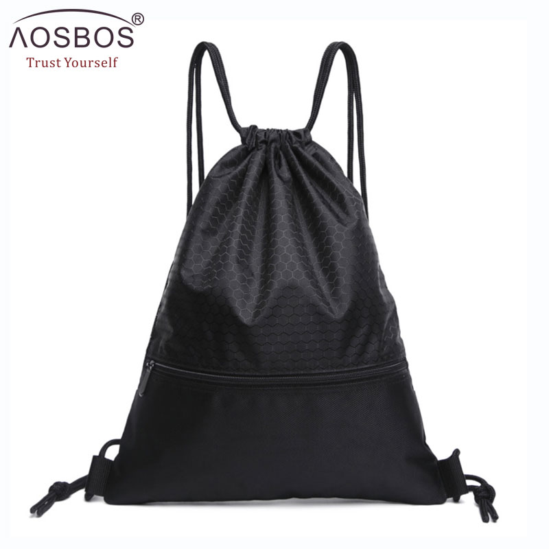 Aosbos Fashion Drawstring Bag Women Men Casual Travel Storage String Package Functional School backpack gift pouch for TeenageAosbos Fashion Drawstring Bag Women Men Casual Travel Storage String Package Functional School backpack gift pouch for Teenage