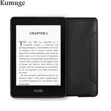 цена на Soft TPU Silicon Back Case for Kindle Paperwhite 1/2/3 6 inch Tablet Ereader Cover for Amazon Kindle Paperwhite 3 Capa+Film+Pen
