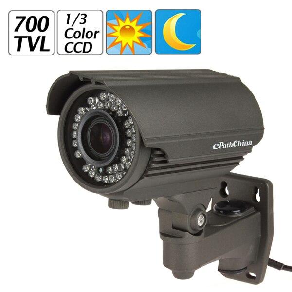 EPathChina Wasserdichte Sicherheit Effio-e Ccd 700TVL 36 IR LED 2,8 ~ 12mm...