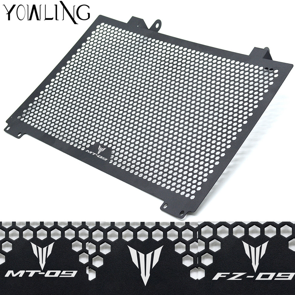 Motorcycle Radiator Guard Radiator Cover Protector For yamaha MT09 MT 09 MT-09 FZ09 FZ-09 2013 2014 2015 2016 mt9 mt 09 MT high quality motorcycle radiator grille guard cover protector for yamaha mt 09 fz 09 fj 09 mt fz fj 09 2013 2014 2015 2016