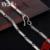 Beier nueva tienda 100% 925 plata esterlina collares colgantes de moda collar de cadenas de joyería fina para las mujeres/hombres br925xl065