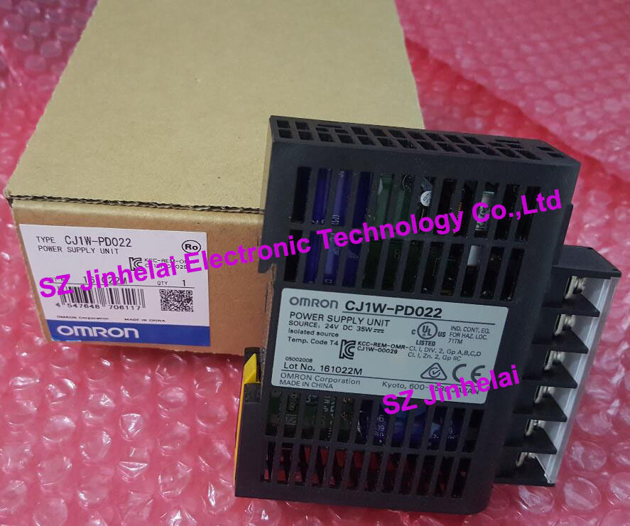100%New and original  CJ1W-PD022  OMRON   Power module new and original e3x da11 s omron optical fiber amplifier photoelectric switch 12 24vdc