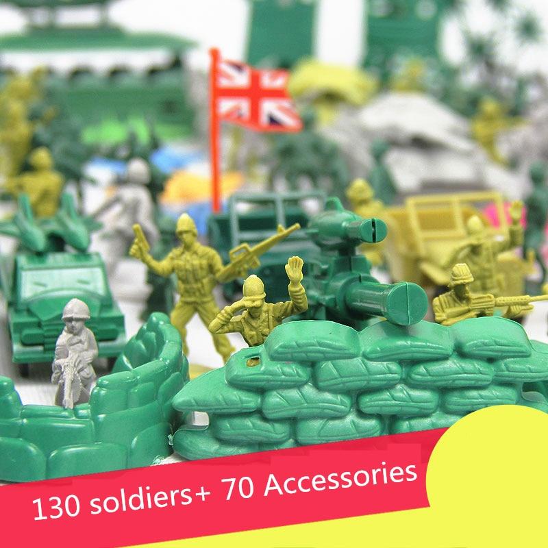 Soldier Toys For Boys : Hot sale pcs set cm lifelike mini military