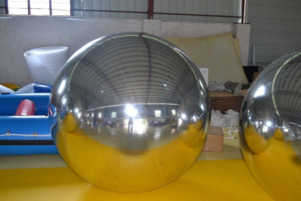 Fancy şişmə güzgü topu, suya davamlı güzgü - Açıq havada əyləncə və idman - Fotoqrafiya 6