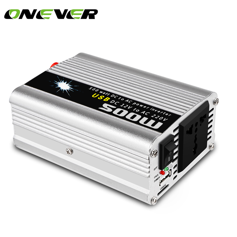 Onever Car-Inverter Power-1000w 12v 220v 500W 50hz Peak