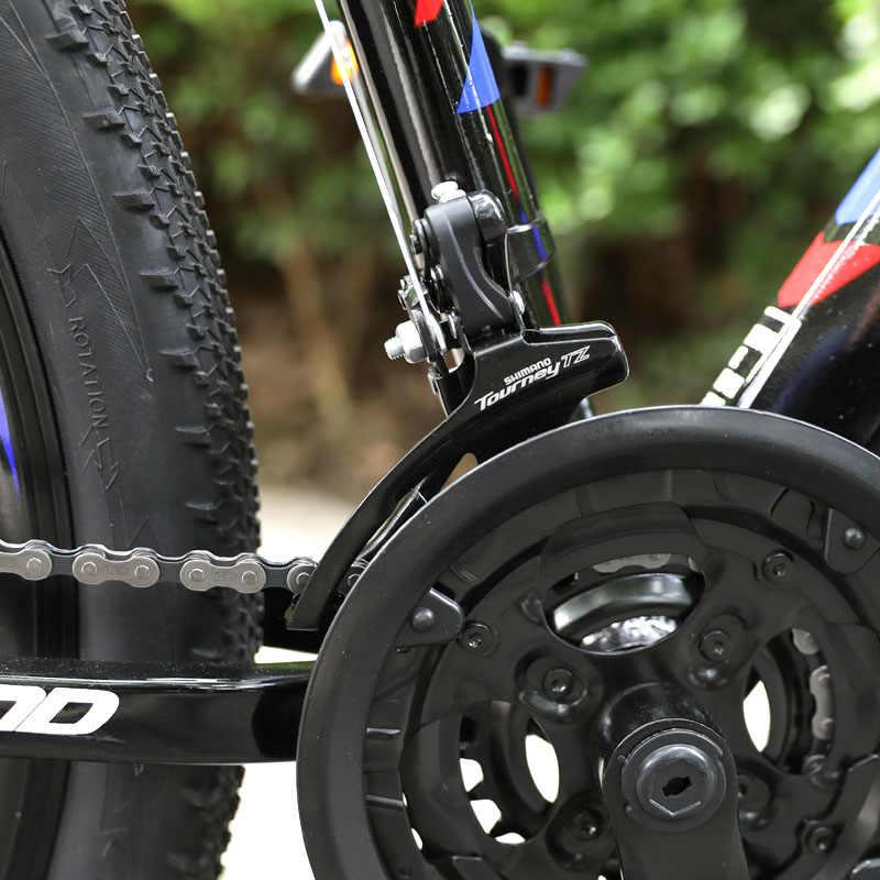 HILAND 21 быстро действенный алюминиевый сплав горный велосипед, велосипедная Подвеска для взрослых, с Shimano Tourney и Microshift Shifter Бесплатная доставка