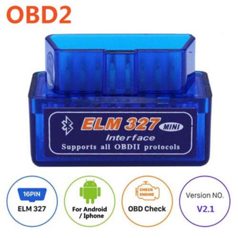 Scanner Bluetooth OBD 2 V2.1 outil de Diagnostic de voiture orme 327 Bluetooth pour Android/Symbian/pour protocole OBDII