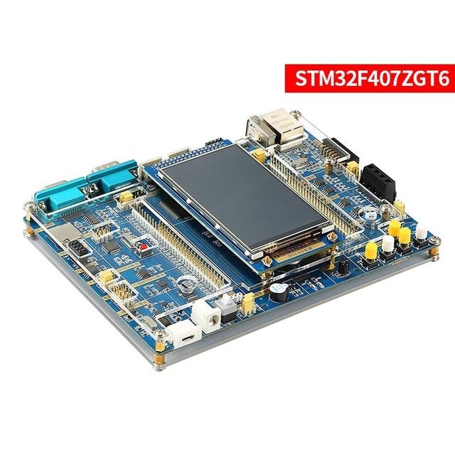 Mikrokomputer jednoukładowy stm32F407 płytka rozwojowa ARM wbudowany moduł wifi wbudowany kolorowy ekran dotykowy