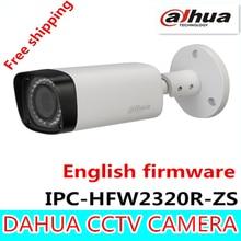 Dahua 3-МЕГАПИКСЕЛЬНОЙ Моторизованный Ip-камеры 2.7 мм ~ 12 мм IPC-HFW2320R-ZS новая модель заменить для IPC-HFW2300R-Z, Бесплатная Доставка