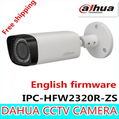 Dahua 3MP Motorized IP Camera 2.7mm~12mm IPC-HFW2320R-ZS new model replace for IPC-HFW2300R-Z,Free Shipping