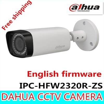 Dahua 3MP Motorized IP Camera 2.7mm~12mm IPC-HFW2320R-ZS new model replace for IPC-HFW2300R-Z,Free Shipping
