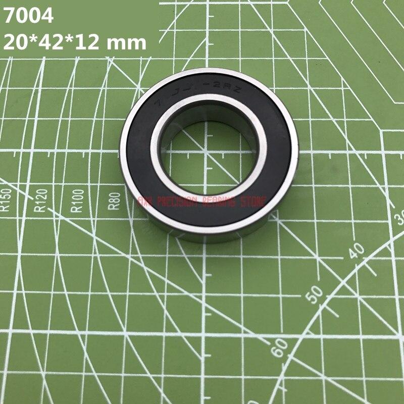 2019 Sale Axk 1pcs 7004 7004c 2rz Hq1 P4 Db A 20*42*12 Mm Sealed Angular Contact Bearings Speed Spindle Cnc Si3n4 Ceramic Ball2019 Sale Axk 1pcs 7004 7004c 2rz Hq1 P4 Db A 20*42*12 Mm Sealed Angular Contact Bearings Speed Spindle Cnc Si3n4 Ceramic Ball
