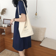 Raged Sheep Canvas Environmental Protection Mom Shopping Bag Letter Casual Cotton Fabric Eco Tote Bolso Mujer
