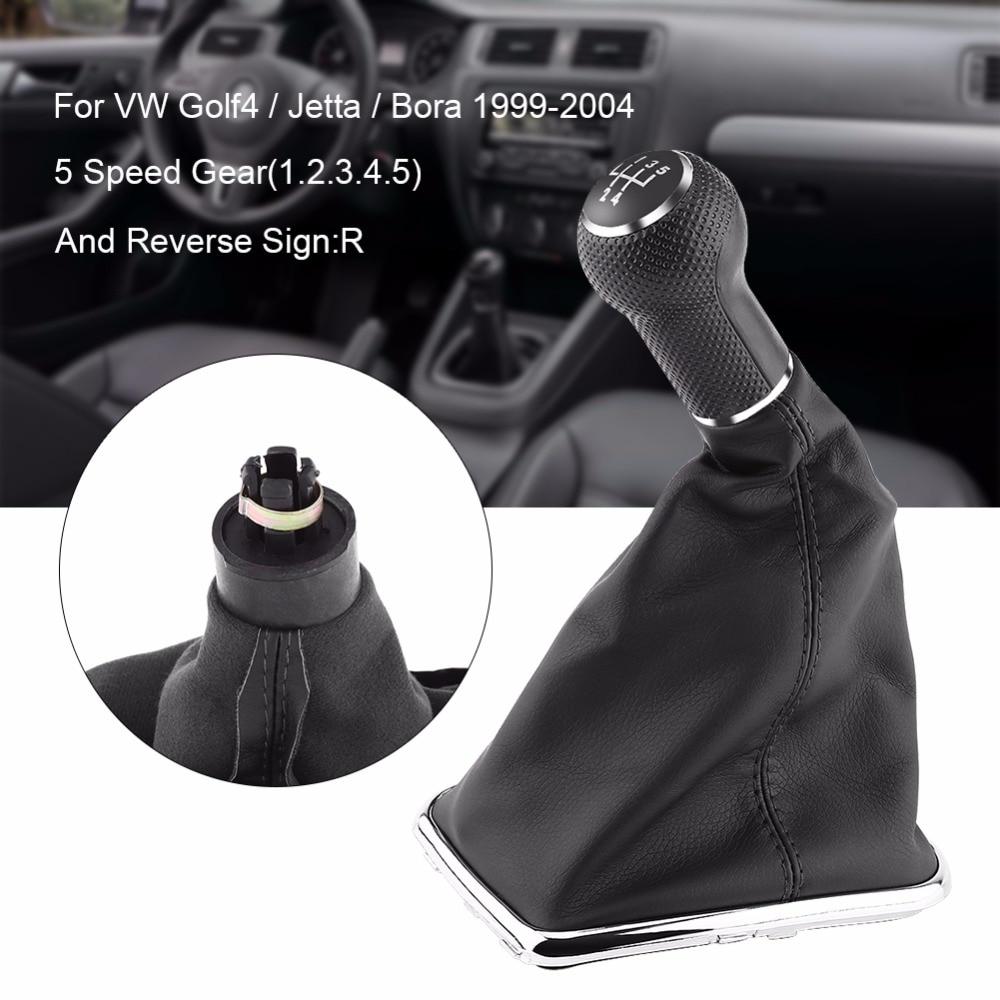 5 Speed Car Knob Gaiter Gear Shift Knob Gearstick Gaiter Boot Kit For For Vw Golf4/jetta/bora 1999-2004 Car-styling Accessories Strengthening Sinews And Bones