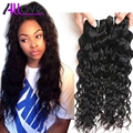 Wet and Wavy Virgin Hair Mink Malaysian Water Wave Hair 4 Bundles Malaysian Virgin Hair Water Wave Unprocessed Human Hair Weave