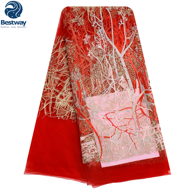 Bestway Latest French Tulle Lace Fabric 2019 High Quality Laces Fine - Arts, Crafts and Sewing - Photo 4