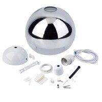 Hot Modern Glass Globe Uplighter LED Ceiling Pendant Light White Lamp Shades Homen Decor For Living Room