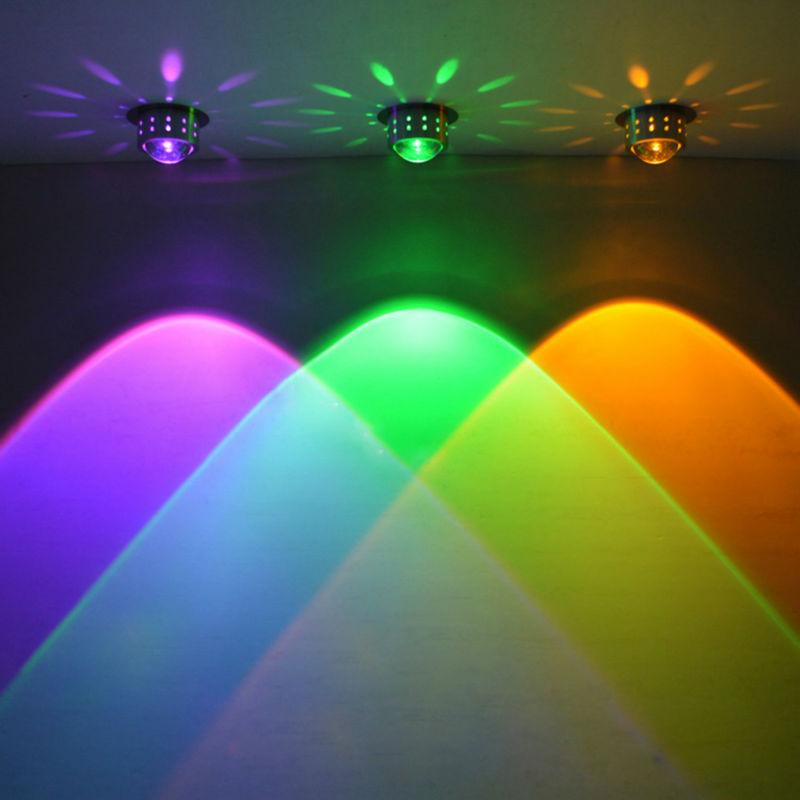 Tanbaby 1 шт. 3 Вт современный светодиодный светильник настенный AC85-265V Встраиваемые в стену украшения приспособление для КТВ Home Hotel столовая, про...