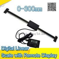 Free Shipping 0 300mm Readout Digital Liner Scale With Remote Display External Display High Accuracy Measuring