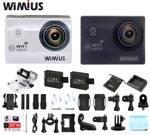 Wimius 2.0″ WiFi Sport Action Camera Full HD 1080P 30fps Helmet Cam 170D Wide Angle DVR Camcorder 30M Waterproof Cameras Deporte