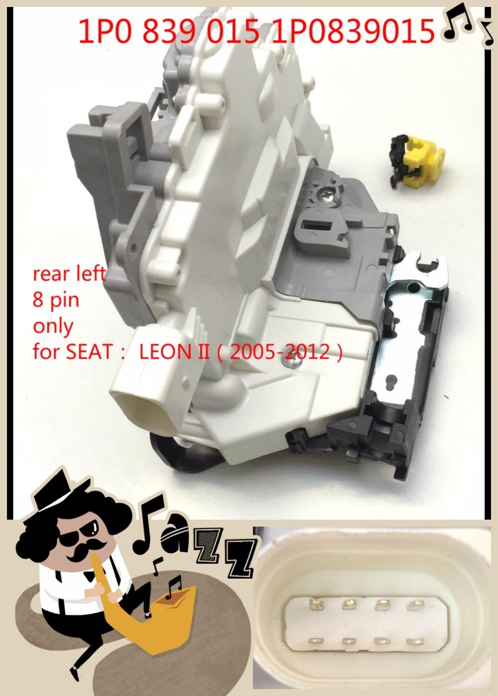 Sierre sentralizado servomotor cerradura de trasera izquierda para Seat Leon toledo 2