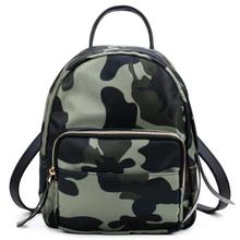 Oxford Small Backpack For Women School Backpacks Plaid Mini Casual Daypack Feminine Mochila Camouflage Mummy travel bag