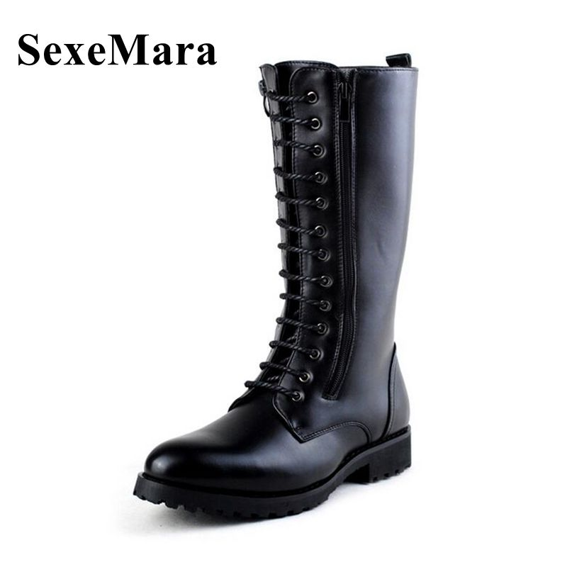 Compare Prices on Long Combat Boots- Online Shopping/Buy Low Price ...