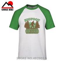 adb3cc859 Funny Bigfoot Hide N Seek T-Shirt Tees Unisex Men Novelty bigfoot sasquatch  squatch yeti