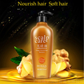 300ml Clean hair dirt and grease Nourish and soft hair gentle caress hair No silicone oil Ginger nourish hair shampoo