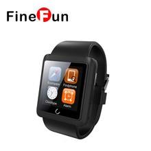 FineFun font b Smart b font Watch U11 U Watch Bluetooth Smartwatch with Sim Slot font