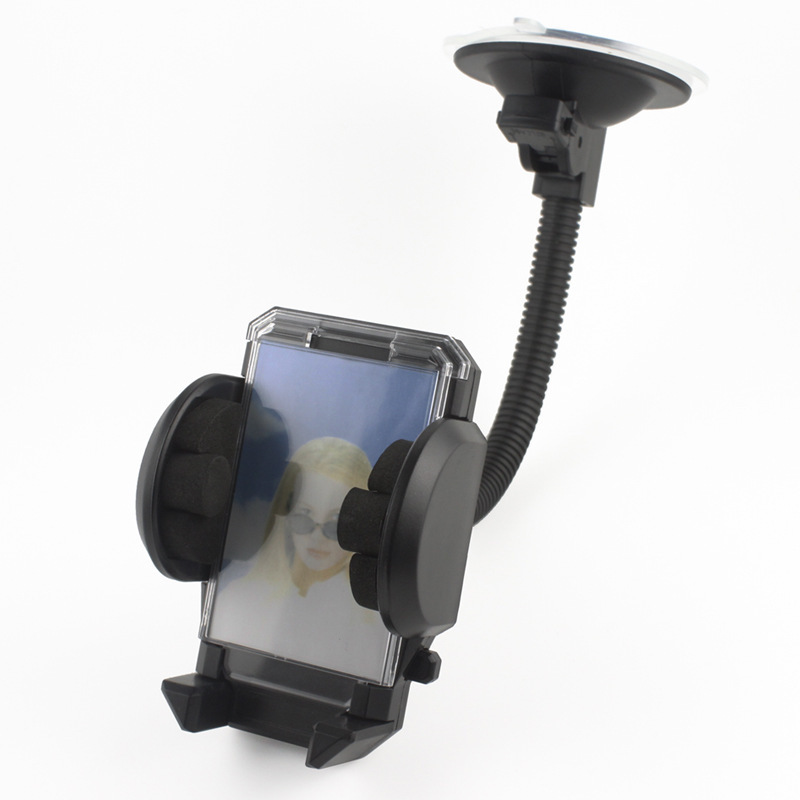 Universal Windshield 360 Degree Rotating Car Mount Bracket Holder Stand for iPhone Cellphone GPS MP4 PDA