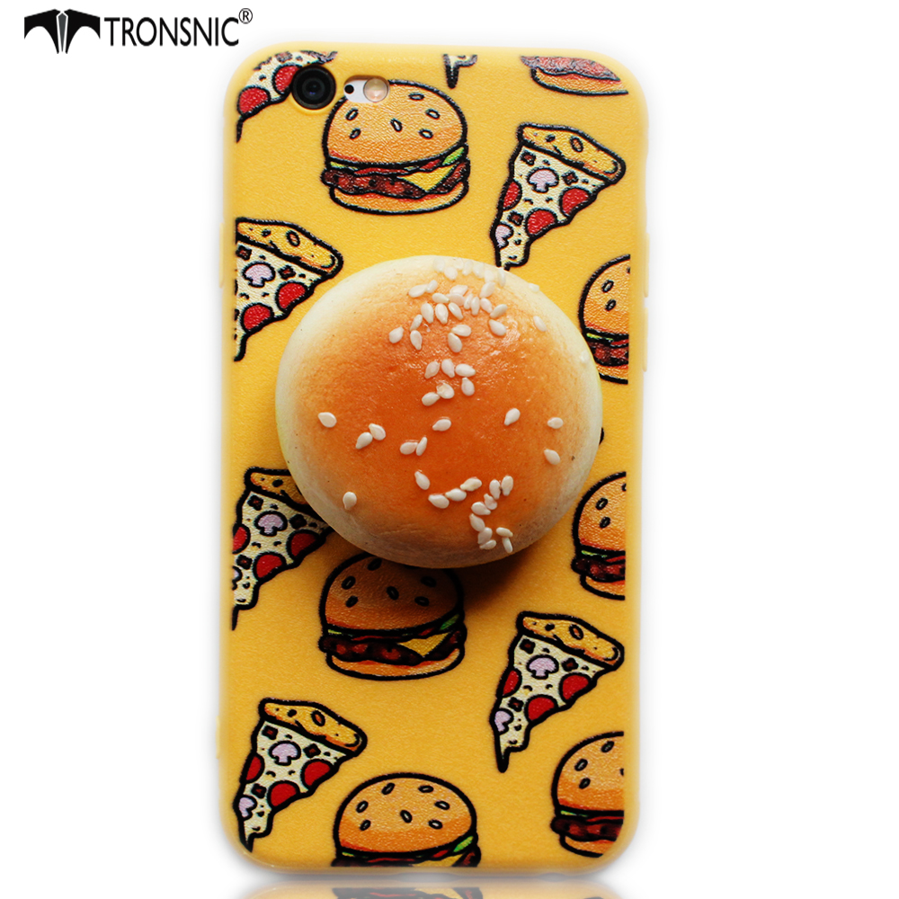 Iphone 6 squishy case - Tronsnic Stress Relief Phone Case For Iphone 6 6s Plus 7 Plus 3d Kawaii Squishy Squeeze
