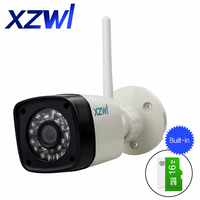 IP65 indoor waterproof Wifi IP camera 1280X720P high clearance 1.0mp wireless SD card 32G P2P Onvif infrared night vision camera