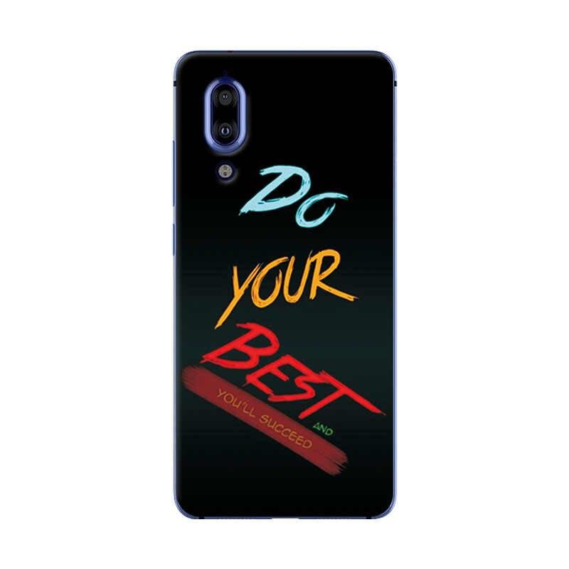 """Hấp dẫn Mới Thời Trang Ốp Lưng Điện thoại Sharp Aquos S2 Mềm TPU Dẻo Silicone Dành Cho SHARP AQUOS S2 Vỏ Coques Trừu Tượng 5.5 """"Inch CapA"""