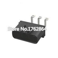 10PCS 3 hole jacket with car plug connector terminals DJ7032Y-6.3-10