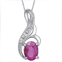Collares Qi Xuan_Red Stone Angel's Tear Pendant Necklaces_Real Necklaces_Quality Guaranteed_Manufacturer Directly Sale