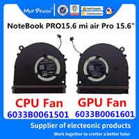 "NEUE original CPU lüfter VIDEO GPU Lüfter links rechts Fan Für Xiao mi NoteBook PRO 15,6 mi luft pro 15,6 ""CPU Fan GPU Fan"