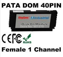 L 40PIN PATA IDE DOM Disk Female Vertical Disk On Module 1-Channels MLC 32GB For CNC, Industrial equipment, Network PC, Gaming