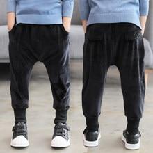 3db43e23f8dc4 YODINA Enfants Vêtements Enfants Casual Pantalons Garçons Pantalons En Velours  Côtelé Couleur Unie Garçons Pantalon pour 4-14 An..