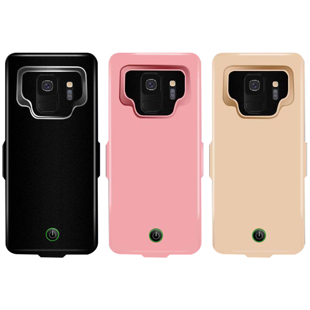 7000mAh Portable Back Up Clamping Power Bank for S9 S9P External Battery Charging Case Charger Poverbank For Galaxy S9 S9Plus