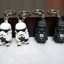 Fancy&Fantasy Star War Keychain Darth Vader Storm Trooper Action Minifigure Keychain Star War Action Figures Toy Gift Llavero