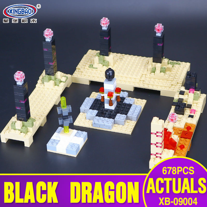 Xingbao 09004 678Pcs Blocks Life Series The Black Dragon Set Children Educational Building Blocks Bricks Boy Toys Model Gifts