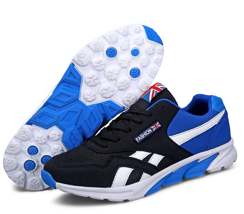 New Spring Summer Men S Ultra Light Mesh Shoes Massage -1772